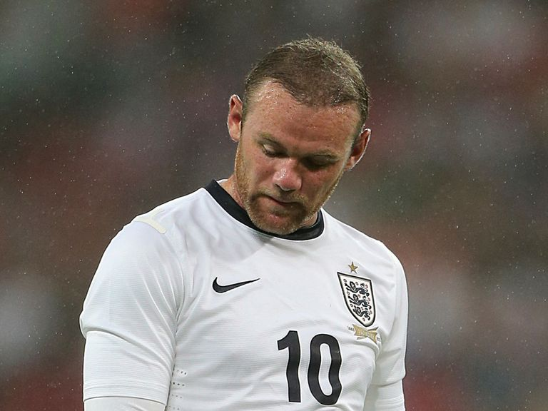Wayne Rooney: Out of the England squad