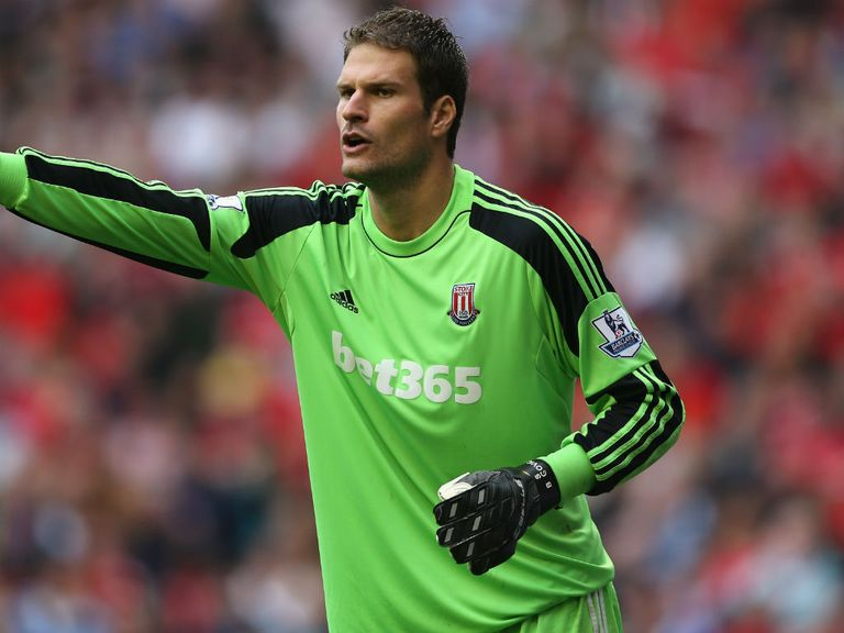 Asmir Begovic: Injury worry for Stoke