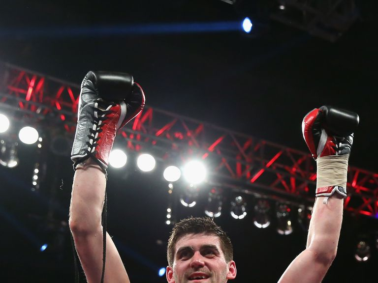 Rocky Fielding: Cemented his status as one of Britain's brightest prospects