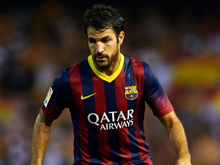 Cesc Fabregas: Shunned Manchester United interest in favour of staying at Camp Nou