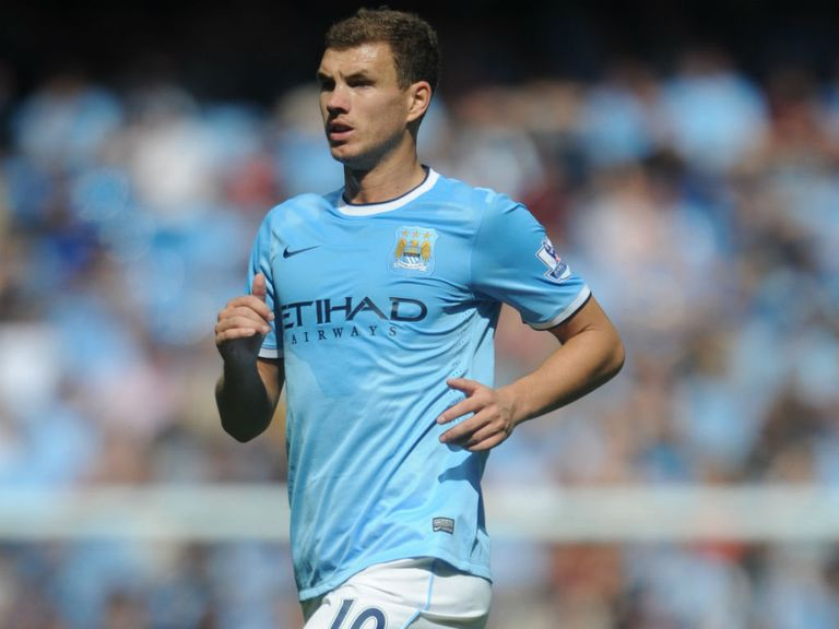 Edin Dzeko: Linked with a January move