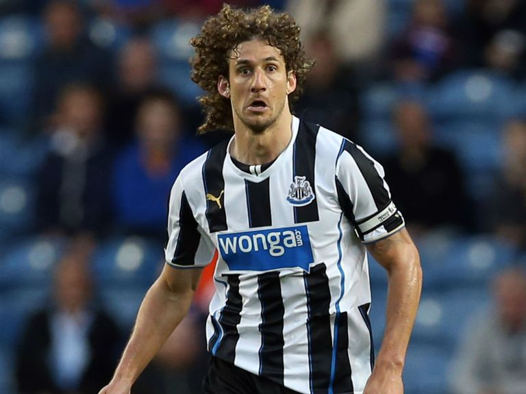 Fabricio Coloccini: Giving his all for Newcastle