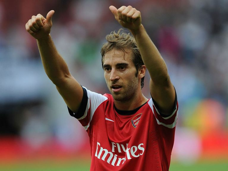 Mathieu Flamini: Happy to be back at Arsenal