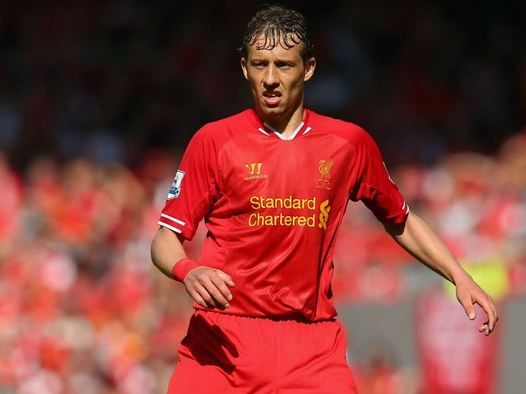 Lucas: Backed to step up in the absence of Steven Gerrard