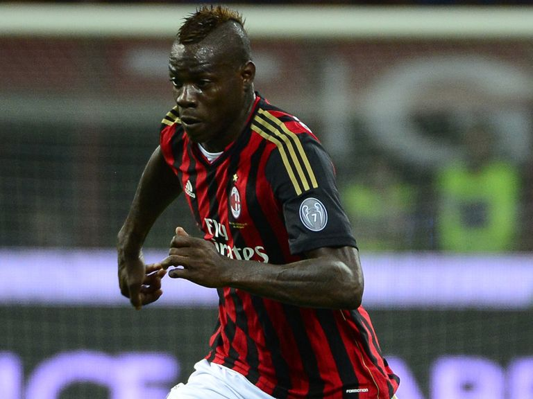 Mario Balotelli: Linked with Chelsea but Massimiliano Allegri says he will stay at AC Milan