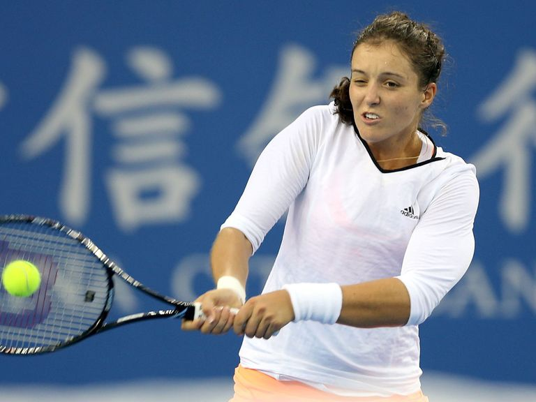 Laura Robson: Beaten by world number nine