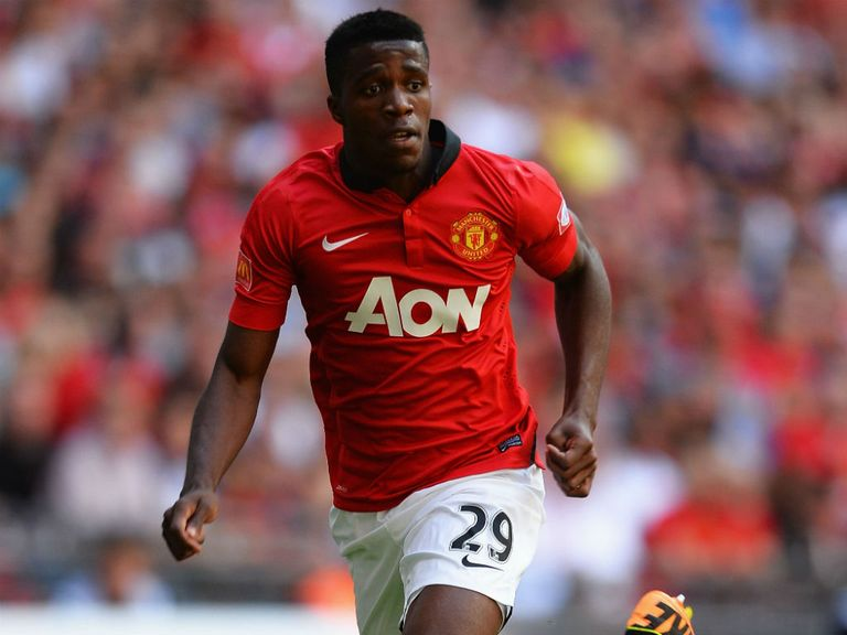 Wilfried Zaha: Linked with a loan move away from Old Trafford