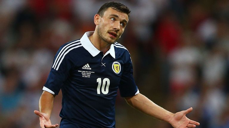 Robert Snodgrass: Not a player Celtic have in their sights
