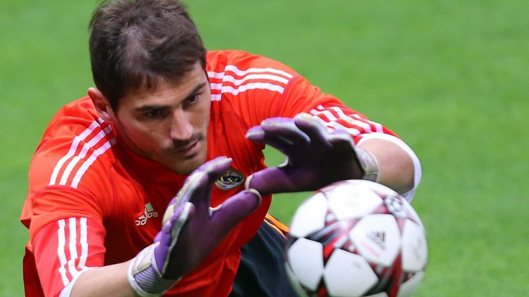 Iker Casillas: Happy at Real Madrid, but currently out of favour domestically