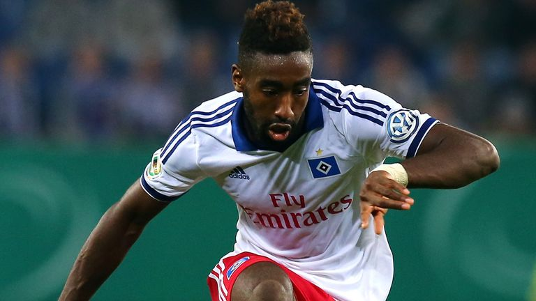 Johan Djourou: Sidelined by a groin injury sustained at Freiburg