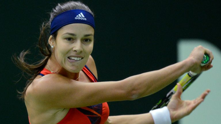 Ana Ivanovic won her first group match in Sofia