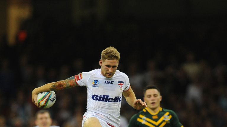 Sam Tomkins: Know England must improve if they are to be successful in year's World Cup