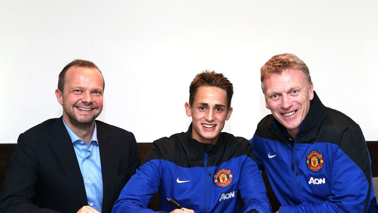 Adnan Januzaj: Has committed his future to Manchester United