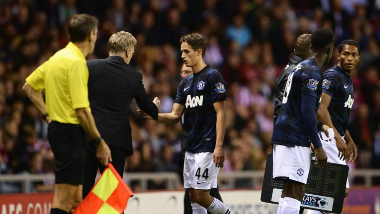 Adnan Januzaj: Tipped to become a great player by David Moyes