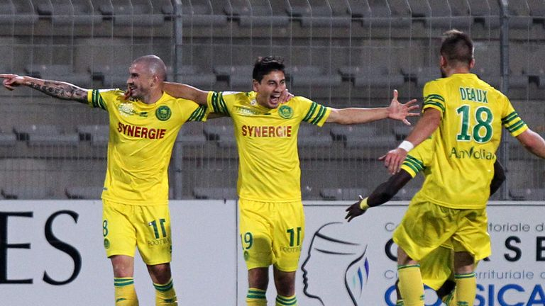 Alejandro Bedoya: On target as Nantes beat Lorient