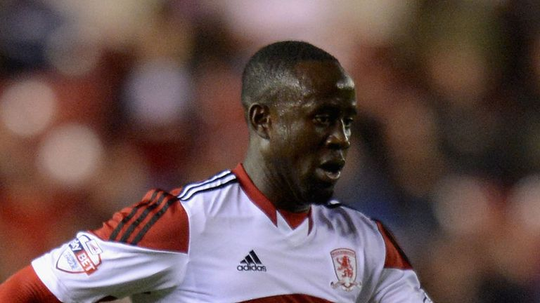 Albert Adomah: At the double for Boro