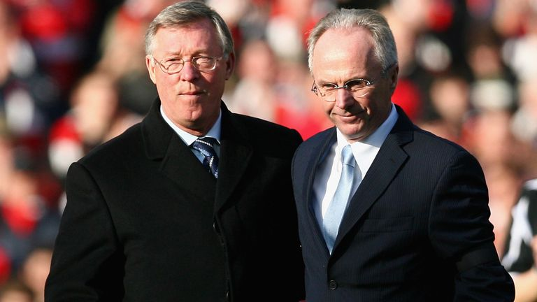 Sven-Goran Eriksson: Argued with Sir Alex Ferguson over Wayne Rooney