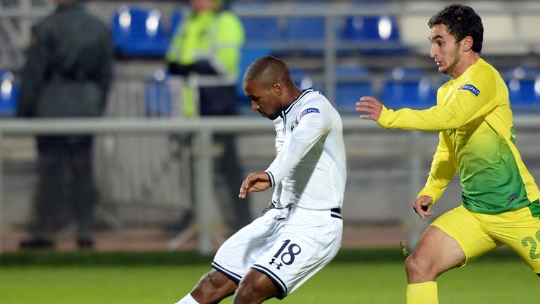 Jermain Defoe: Impressed against Anzhi Makhachkala