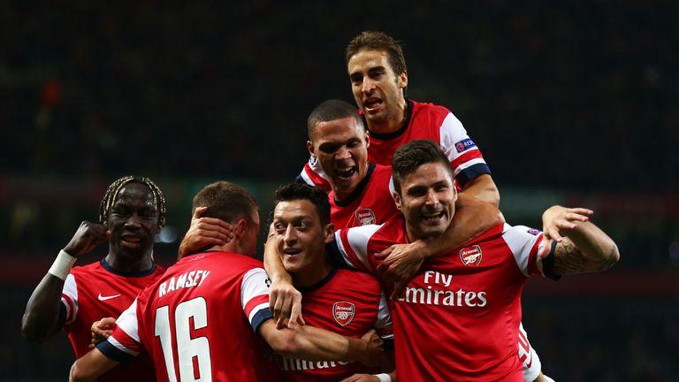 Arsenal: Arsene Wenger's men top the table on goals scored