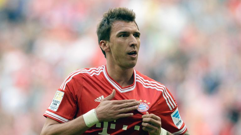 ... Beckenbauer admits Mario Mandzukic could leave the club in the summer