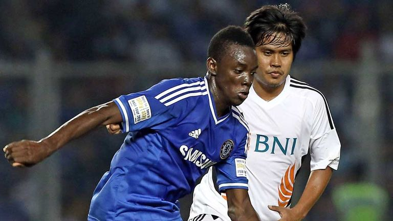 Bertrand Traore: Impressed during Chelsea's tour of Asia