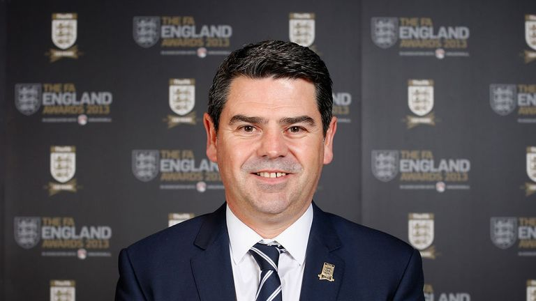 Adrian Bevington: Confirmed plans to play Germany at Wembley
