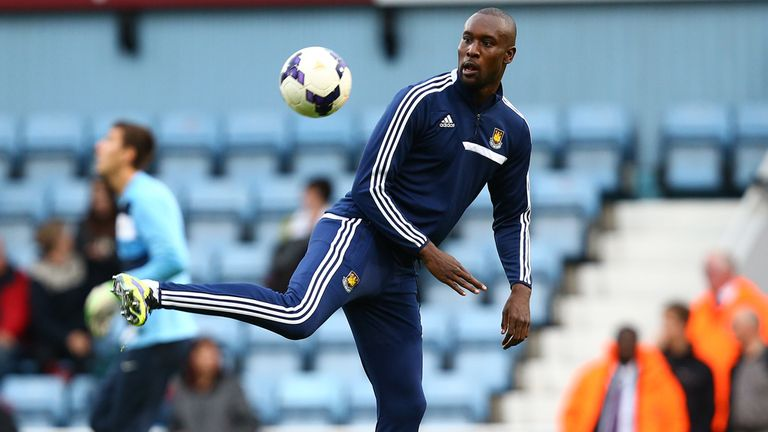 Carlton Cole: Set to start for West Ham at Turf Moor