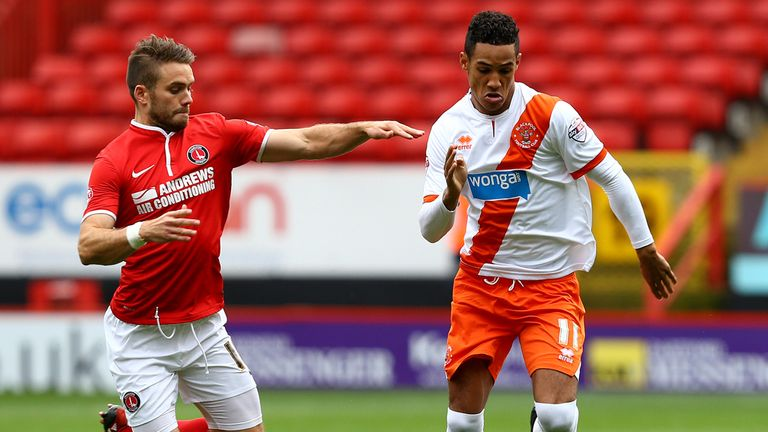Thomas Ince: Looks to get past Rhoys Wiggins