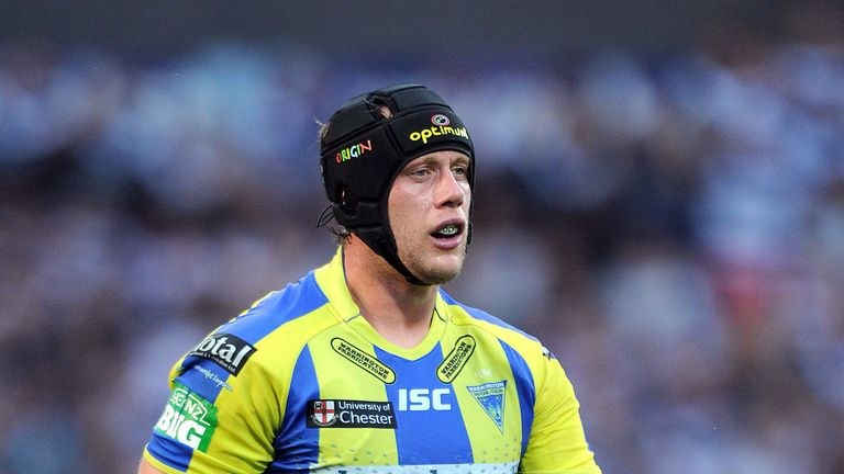 Chris Hill: Has signed a five-year contract with Warrington Wolves