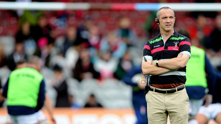 Conor O'Shea: Harlequins director of rugby pleased with home win