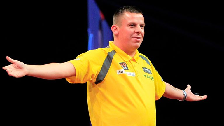 Chisnall: made his debut in the Premier League this season