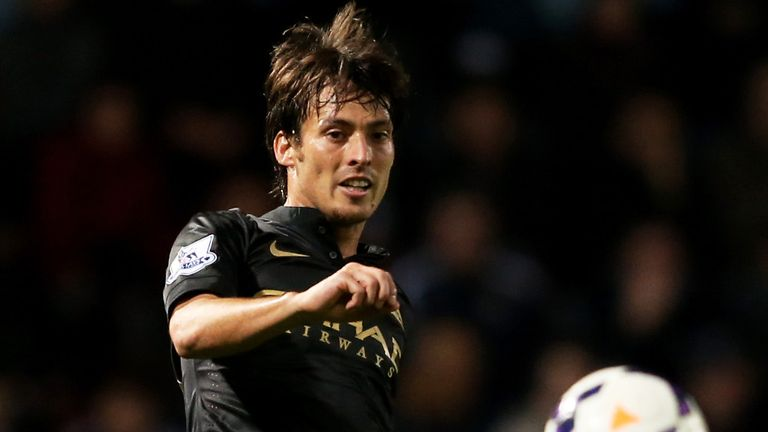David Silva: Facing up to four weeks out with a calf strain