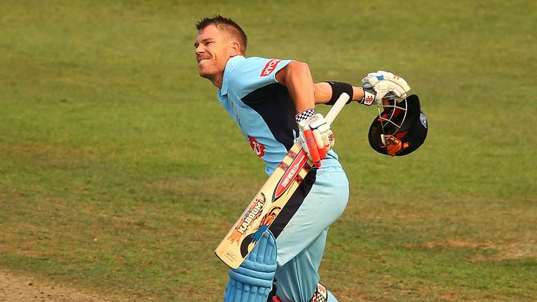 David Warner: New Australian record