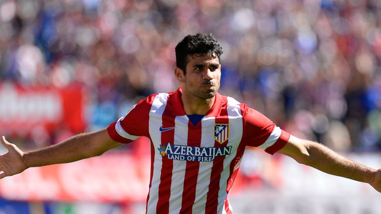 Costa is still held in high regard by former club Atletico Madrid