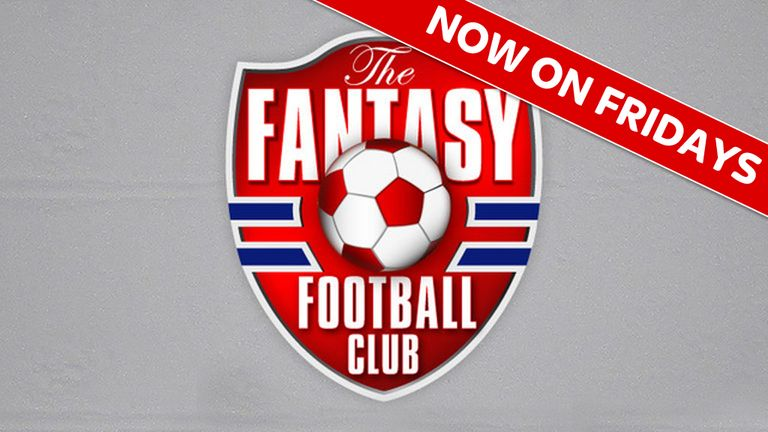 The Fantasy Football Club: 6pm, Friday, Sky Sports 1