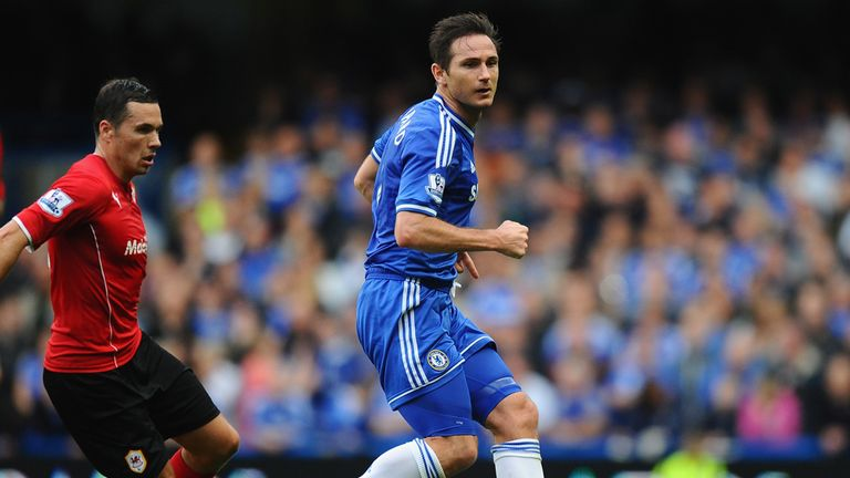 Frank Lampard: Believes the Chelsea players are showing good form