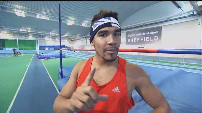 Louis Smith: Returning to training