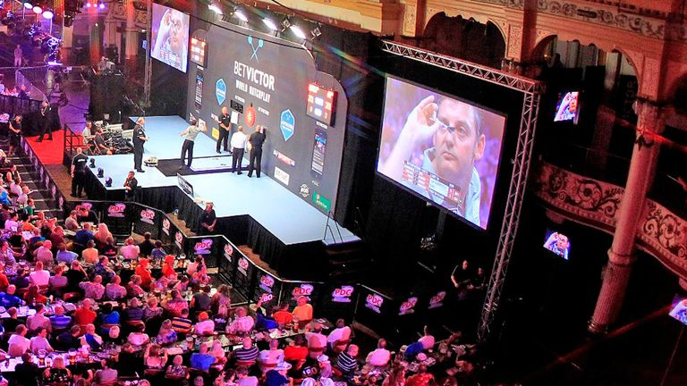 Winter Gardens: an iconic venue in the sport of darts