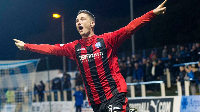 Gary McDonald: Finally broke Greenock Morton's resistance