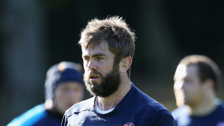 Geoff Parling: England lock out of Australia clash