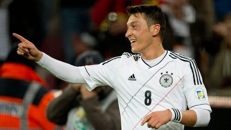Mesut Ozil: Named Germany's Player of the Year again