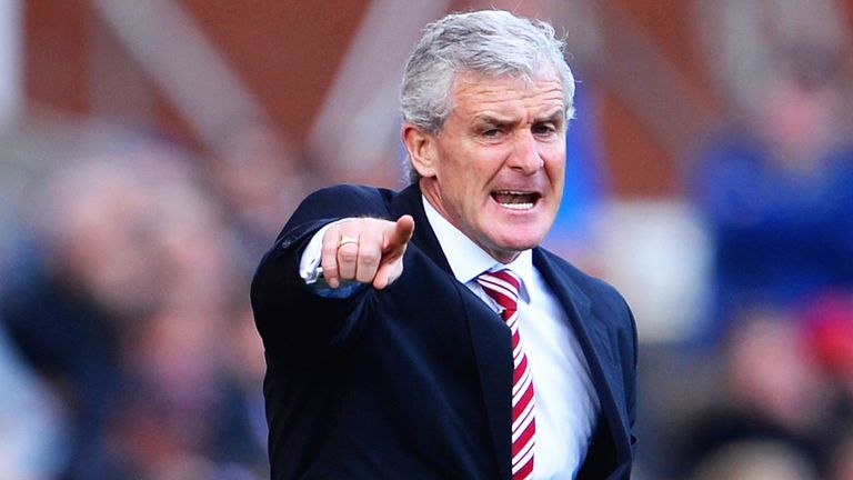 Mark Hughes: Happy with display