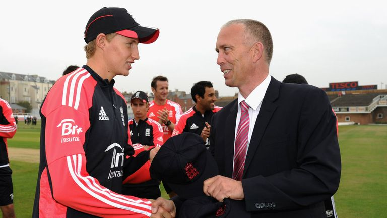 James Whitaker (R): Will take over from Geoff Miller as chairman of selectors next year