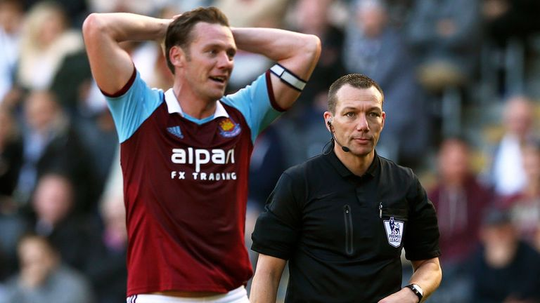 Kevin Nolan: Hopeful over Andy Carroll's red card against Swansea