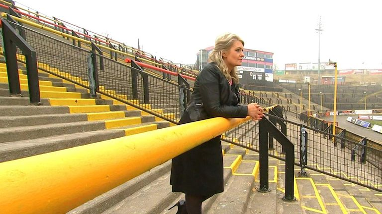 Kate Hardcastle grew up on the Odsal terraces before becoming a non-executive director of the Bradford Bulls when financial difficulties took hold