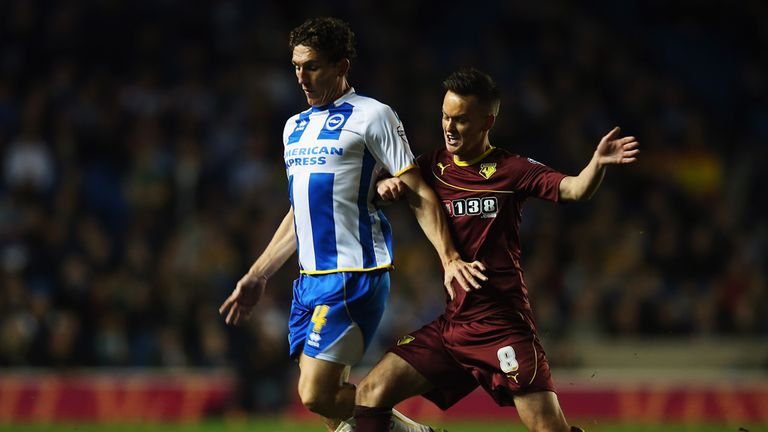 Josh McEachran (r): Battling for his place in a Wigan Athletic shirt