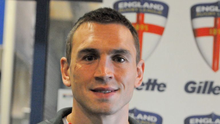 Kevin Sinfield: Proud to lead England in the Rugby League World Cup