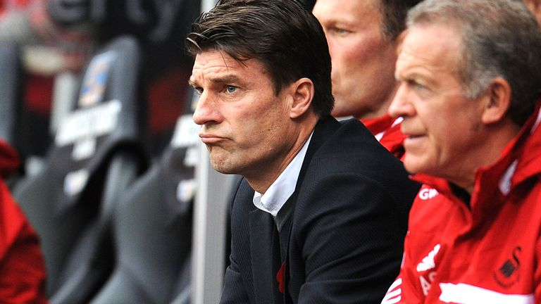 Michael Laudrup: Is preparing Swansea for tonight's match with Newcastle