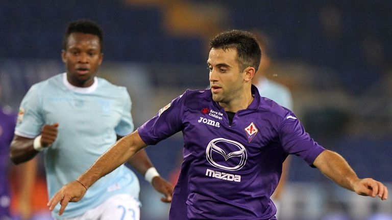 Giuseppe Rossi: Fiorentina striker enjoyed emotional return to Italy team
