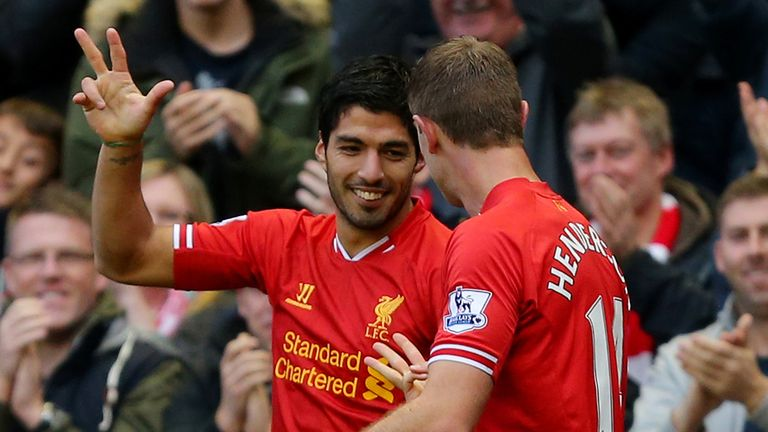Luis Suarez: At 'a massive club - a global institution', says Rodgers